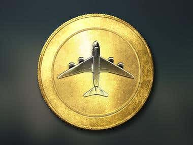 Cryptocurrency Plane Coin