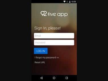 92 Five app