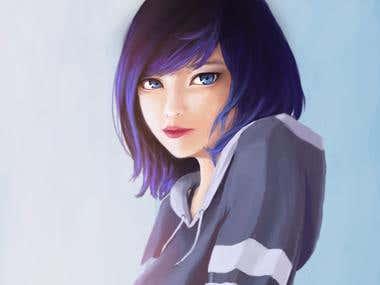 BLUE - Character Potrait
