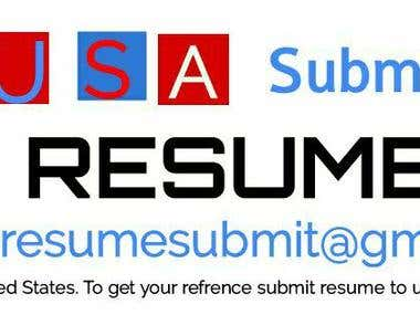 USA Submit Your resume Facebook Group and page