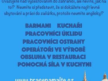 Advertising Poster Job in Malta