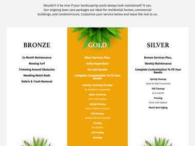 Website Copy: KD Landscaping
