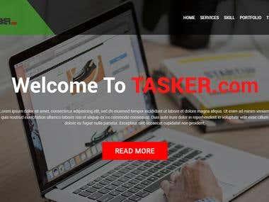 UI UX WEB DESIGN TASKER DOT COM