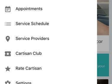 Car Services Booking App