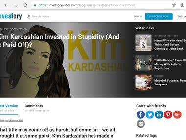 Kim Kardashian Invested in Stupidity (And It Paid Off)?