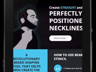 Beard Stencil