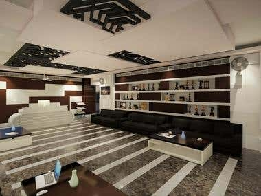 Design of interior of an Office