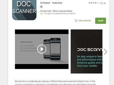 Document Scanner - PDF Creator App Development