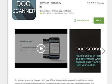 Document Scanner - PDF Creator App Development
