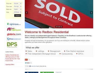Estate Agency Website