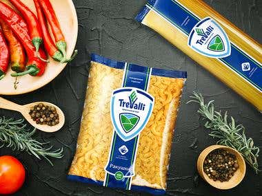 TreValli - Groats and flour products