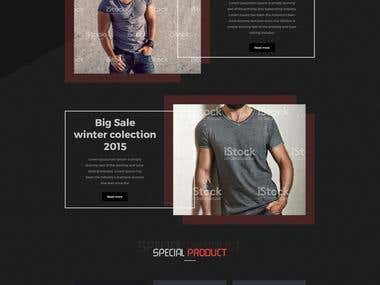 Ecommerce shopify site