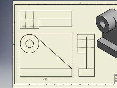 3D Mechanical Drawing