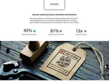 Branding & Social Media Marketing - 7 Virtues Clothing