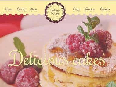 bakeryhouse - template on themeforest