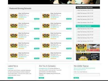 Online Driving School Directory