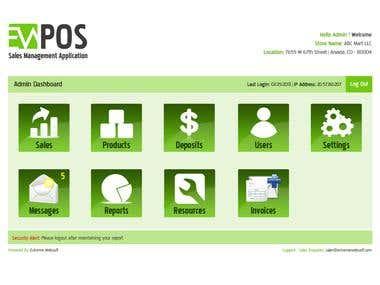 Sales Management Application