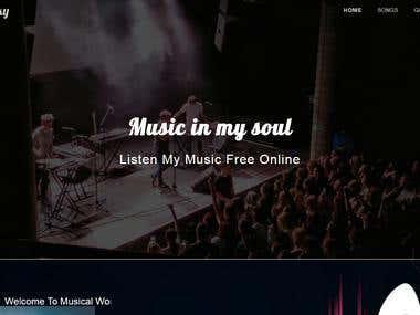 Singer Website