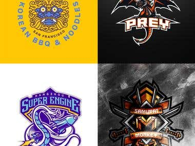 Mascot Illustration Logos