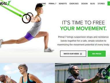 Health and Fitness Website