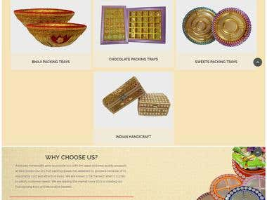Dry Fruit Trays, Platters, Boxes and Gift Basket Manufacture