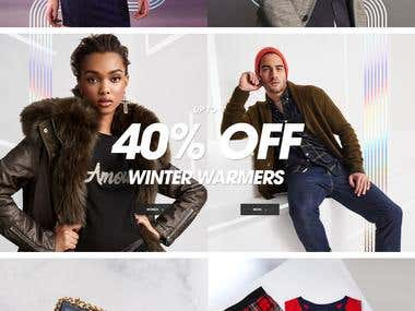 eCommerce for UK based clothiing Brand River Island