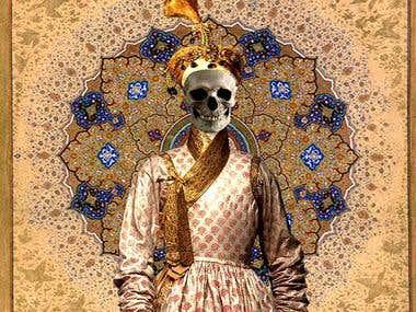 Royal skull