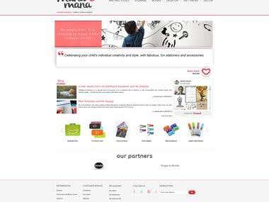 eCommerce: Mana Mana Online Stationery Store