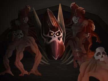 Legacy of Kain Soul Reaver Melchiah