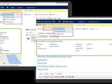 Dynamics CRM - Staffing & Recruiting
