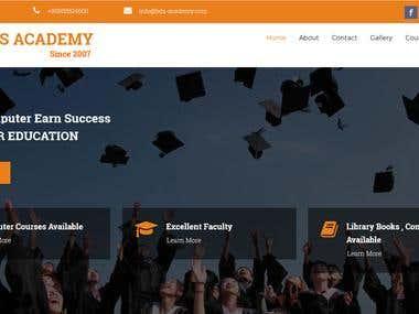 Simple Education website