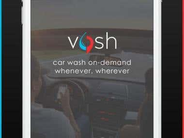 vosh: mobile carwash on demand