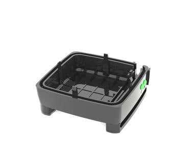 electronic plastic enclosure
