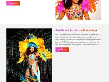 Costume Rental , Selling Woocommerce Site