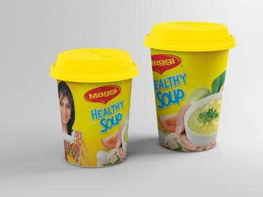 Maggi Soup Cup
