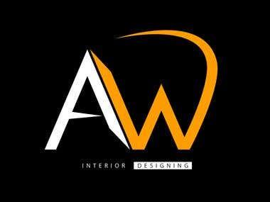 Interior designing logo