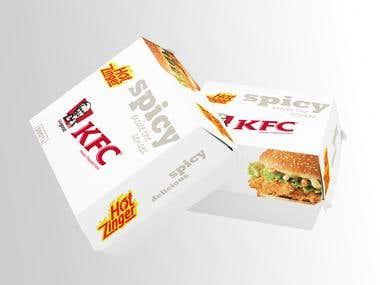 KFC Burger Box
