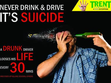 Drink and Drive Awareness Poster