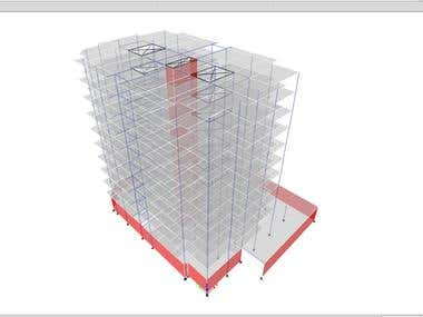 Structural Design of High Rise Building Using ETABS
