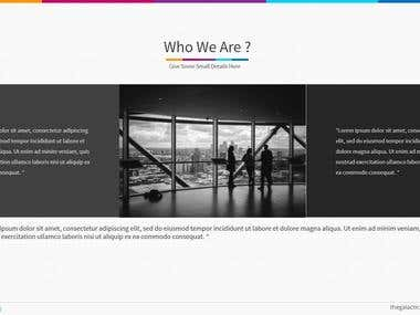PowerPoint Template v4 - Company Overview