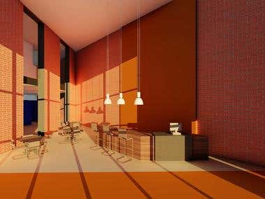 Interior Design(Autodesk Revit)