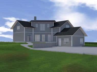 3D Development of House