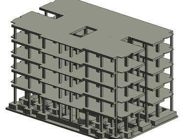 Revit Structural Model