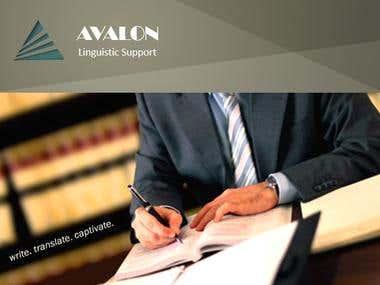AVALON presentation cover