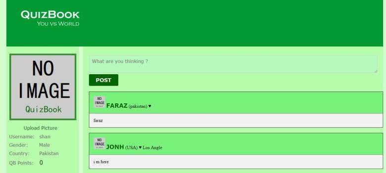 QuizBook Online Game Website   Freelancer