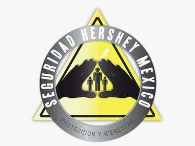 Hershey Mexico Corporate Security Logo