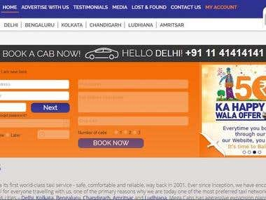 Cabs Booking