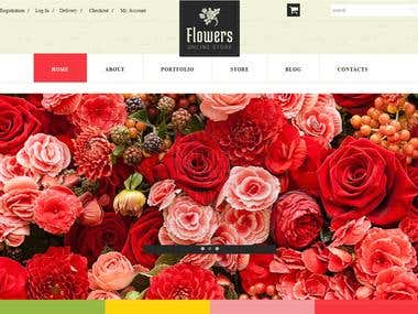 Flowers Online Store