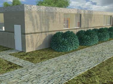 Cultural house 3D