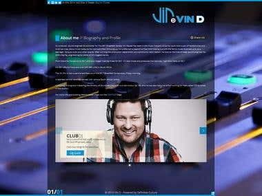 Website: Vin Deysel